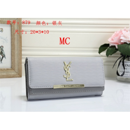 Cheap Yves Saint Laurent YSL Fashion Wallets #525295 Replica Wholesale [$16.49 USD] [W#525295] on Replica Yves Saint Laurent YSL Wallets
