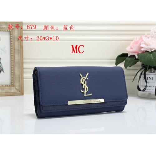 Cheap Yves Saint Laurent YSL Fashion Wallets #525296 Replica Wholesale [$16.49 USD] [W#525296] on Replica Yves Saint Laurent YSL Wallets
