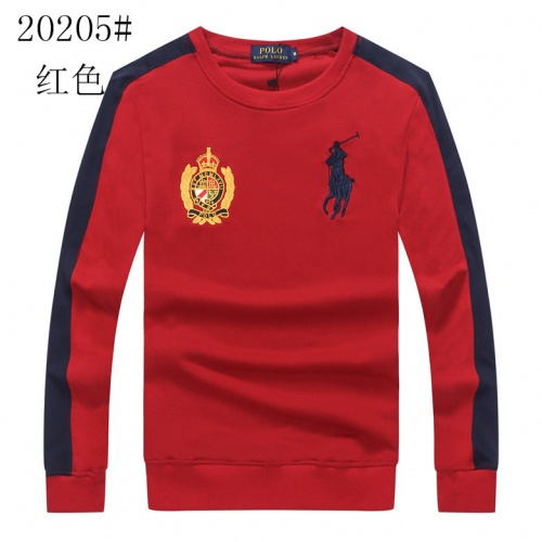 Cheap Ralph Lauren Polo Hoodies Long Sleeved O-Neck For Men #525319 Replica Wholesale [$34.92 USD] [W#525319] on Replica Ralph Lauren Polo Hoodies