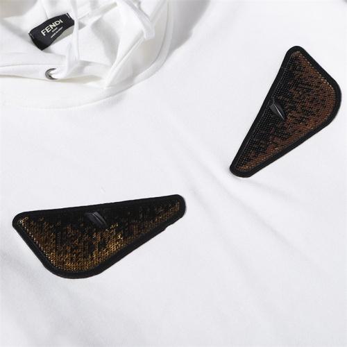 Cheap Fendi Hoodies Long Sleeved Hat For Men #525330 Replica Wholesale [$42.68 USD] [W#525330] on Replica Fendi Hoodies
