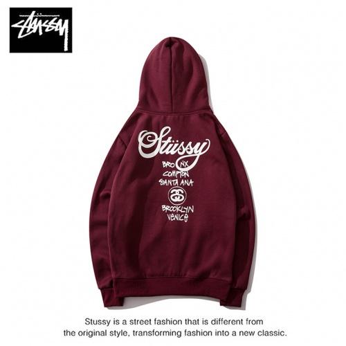 Cheap Stussy Hoodies Long Sleeved Hat For Men #525364 Replica Wholesale [$36.86 USD] [W#525364] on Replica Stussy Hoodies