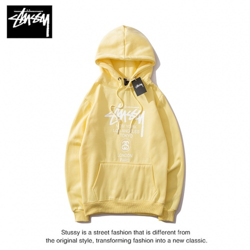 Cheap Stussy Hoodies Long Sleeved Hat For Men #525368 Replica Wholesale [$36.86 USD] [W#525368] on Replica Stussy Hoodies