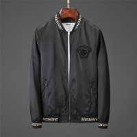 Versace Jackets Long Sleeved Zipper For Men #519082