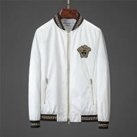 Versace Jackets Long Sleeved Zipper For Men #519083