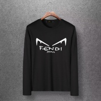 Fendi T-Shirts Long Sleeved O-Neck For Men #519395