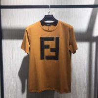 Fendi T-Shirts Short Sleeved O-Neck For Men #519474