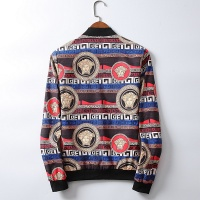 Versace Jackets Long Sleeved Zipper For Men #519494