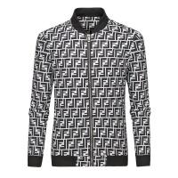 Fendi Jackets Long Sleeved Zipper For Men #519495