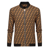 Fendi Jackets Long Sleeved Zipper For Men #519496