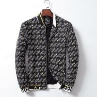 Fendi Jackets Long Sleeved Zipper For Men #519499