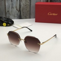 Cartier AAA Quality Sunglasses #520084