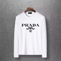 Prada T-Shirts Long Sleeved O-Neck For Men #520183