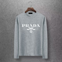 Prada T-Shirts Long Sleeved O-Neck For Men #520184