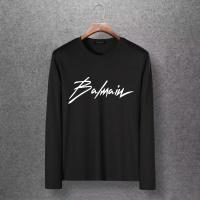 Balmain T-Shirts Long Sleeved O-Neck For Men #520240