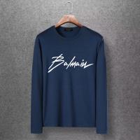 Balmain T-Shirts Long Sleeved O-Neck For Men #520241