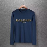 Balmain T-Shirts Long Sleeved O-Neck For Men #520248