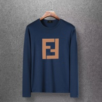 Fendi T-Shirts Long Sleeved O-Neck For Men #520253