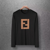 Fendi T-Shirts Long Sleeved O-Neck For Men #520254