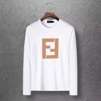 Fendi T-Shirts Long Sleeved O-Neck For Men #520256