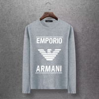 Armani T-Shirts Long Sleeved O-Neck For Men #520261