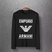 Armani T-Shirts Long Sleeved O-Neck For Men #520262
