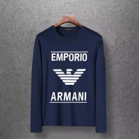 Armani T-Shirts Long Sleeved O-Neck For Men #520263