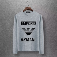 Armani T-Shirts Long Sleeved O-Neck For Men #520264
