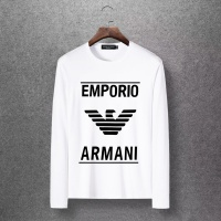 Armani T-Shirts Long Sleeved O-Neck For Men #520265