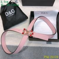 Dolce & Gabbana D&G AAA Belts For Women #521376