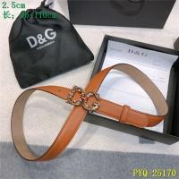 Dolce & Gabbana D&G AAA Belts For Women #521383