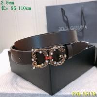 Dolce & Gabbana D&G AAA Belts For Women #521387