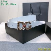 Dolce & Gabbana D&G AAA Belts For Women #521388