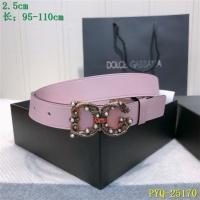 Dolce & Gabbana D&G AAA Belts For Women #521390