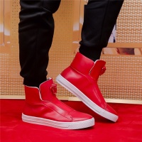 Versace High Tops Shoes For Men #521917