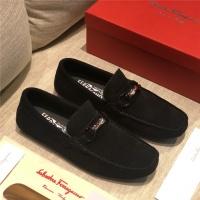 Ferragamo Leather Shoes For Men #521956