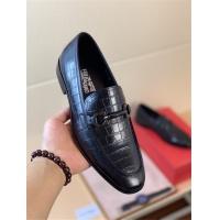 Ferragamo Leather Shoes For Men #521957