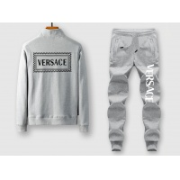 Versace Tracksuits Long Sleeved Zipper For Men #522420