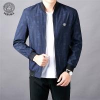 Versace Jackets Long Sleeved Zipper For Men #522486