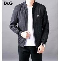 Dolce & Gabbana D&G Jackets Long Sleeved Zipper For Men #522500