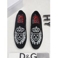 Dolce & Gabbana D&G Leather Shoes For Men #522735