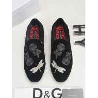 Dolce & Gabbana D&G Leather Shoes For Men #522736