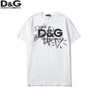 Dolce & Gabbana D&G T-Shirts Short Sleeved O-Neck For Men #522950