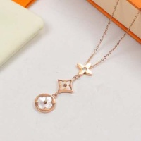 Louis Vuitton LV AAA Quality Necklace #523247