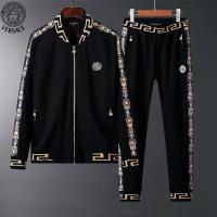 Versace Tracksuits Long Sleeved Zipper For Men #523426