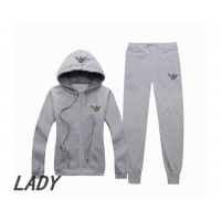 Armani Tracksuits Long Sleeved Zipper For Women #523475