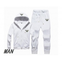 Armani Tracksuits Long Sleeved Zipper For Men #523476