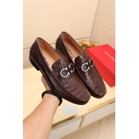 Ferragamo Leather Shoes For Men #524100