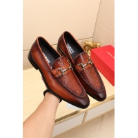 Ferragamo Leather Shoes For Men #524105