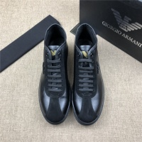 Armani High Tops Shoes For Men #524269