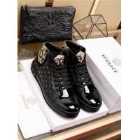 Versace High Tops Shoes For Men #524345